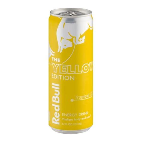 energy drink yellow bull the yellow edition energy drink tropical hy vee