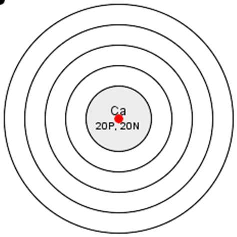 bohr diagram of calcium draw the atomic diagram of calcium 10864273