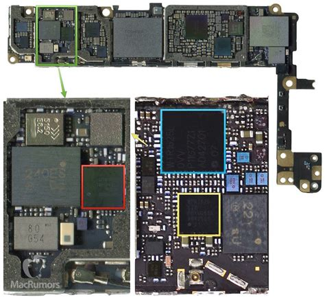 of partially assembled iphone 6s reveals a few previously unknown tidbits