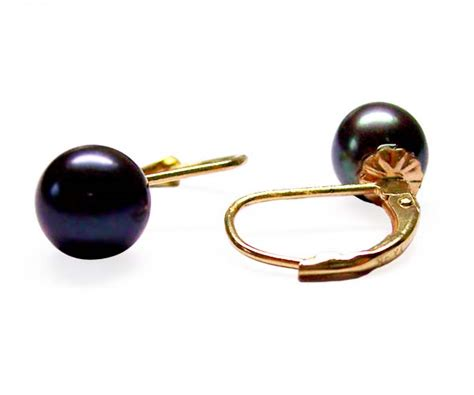 Caring Colours Illuminate Timeless Dac 02 Sea Gold 10gr 7 7 5mm aaa pearl 14k gold leverback earrings