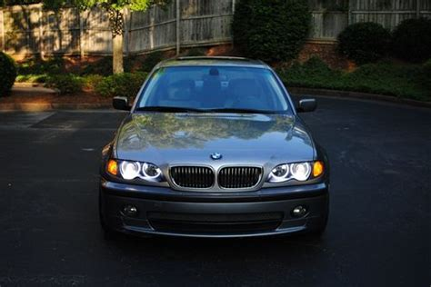 2004 bmw 330i lights buy used 2004 bmw 330i sports package halo lights in