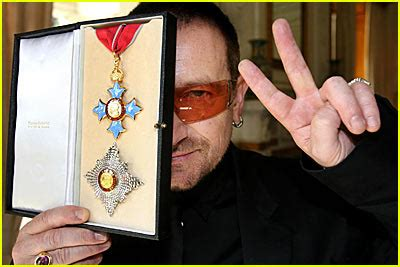 Now Introducing Sir Bono by Bono Is Now A Bono Just Jared