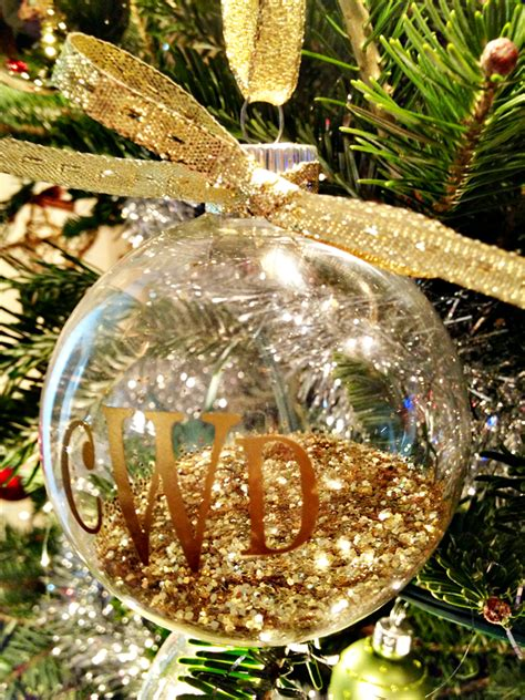diy monogram ornaments silhouette black friday deals