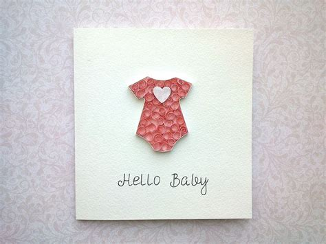 baby cards to make 65 best images about quilling tutorial on make
