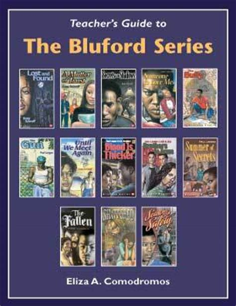 the series books s guide to the bluford series by eliza a
