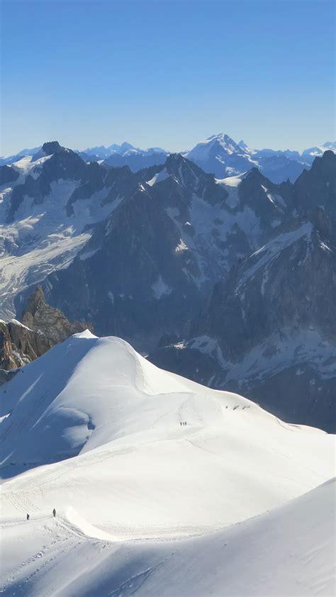 wallpaper aiguille du midi   wallpaper french alps