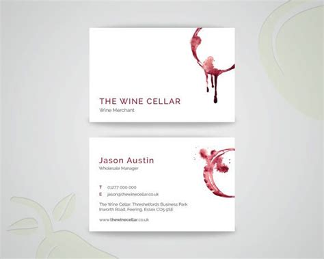 Wine Business Cards Templates by 10 Best Wine Store Images On Display Ideas