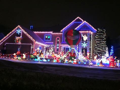holiday christmas light displays