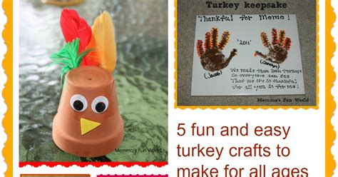 thanksgiving crafts for ages 3 5 momma s world turkey crafts for all ages