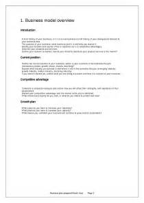 Outline Of History Sba by Business Plan Template Hashdoc