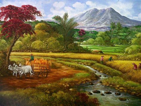Jual Lukisan Kerang Laut Kaskus lukisan pemandangan alam hutan koleksi gambar hd