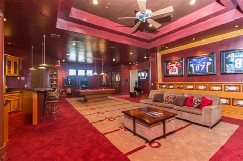 House Plans With Indoor Pool Unreal Estate Of The Week Man Caves Of Famous Athletes