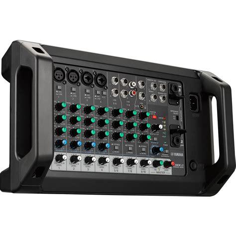 Mixer Power Mixer yamaha emx2 10 input powered mixer emx2 b h photo