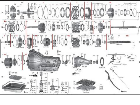 ford c4 transmission diagram ford c6 transmission parts diagram car interior design