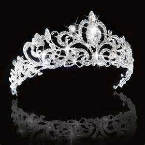 Wedding Crown bridal princess austrian stunning hair tiara wedding crown veil headband ebay