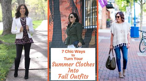 7 Ideas To Convert Summer Clothes To Fall by 7 Chic Ways To Turn Your Summer Clothes Into Fall