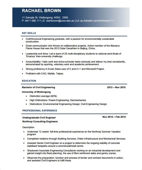 engineering cv template free resume pdf template health symptoms and cure