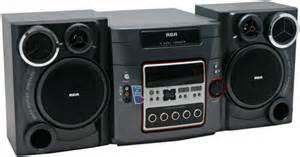rca rs2652 book shelf stereo system 200w 5 disc am fm