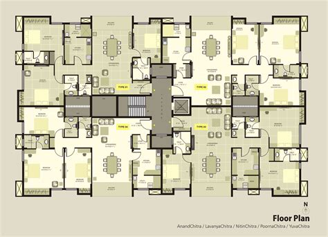 apartment plan krc dakshin chitra luxury apartments floorplan luxury