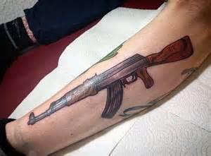 40 ak 47 tattoo designs for men an arsenal of ideas