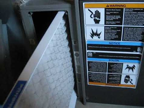 how to change lennox furnace air filter