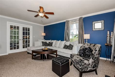 blue accent wall in living room 26 blue living room ideas interior design pictures designing idea
