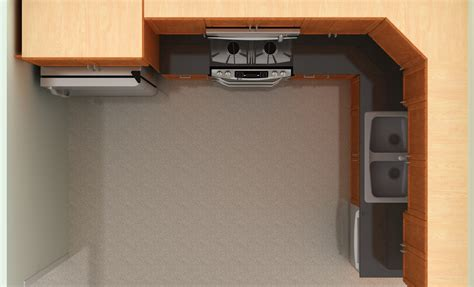 Kitchen Cabinet Carousel by Ikea Kitchen Design Top View