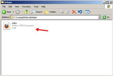 membuat file index html cara membuat localhost dengan xampp jordan com