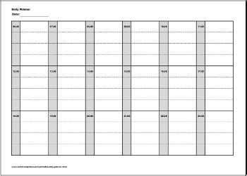 free printable daily planner 30 minute intervals daily planner template pdf driverlayer search engine