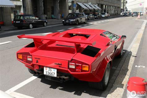 Lamborghini Quattrovalvole by Lamborghini Countach 5000 Quattrovalvole 1 September