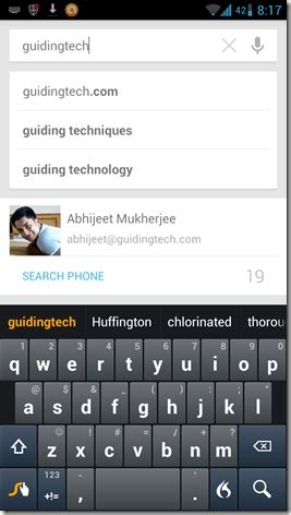 search by image on android how to search within apps using default android search