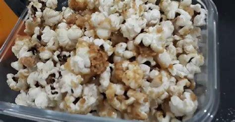 resep popcorn karamel susu enak  sederhana cookpad