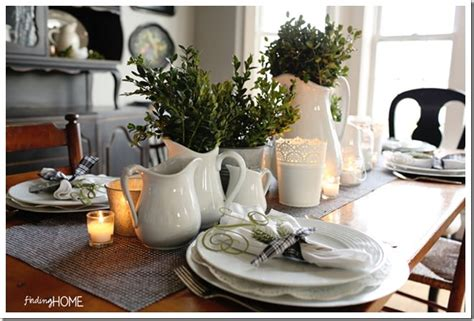 Dining Room Table Winter Centerpieces 12 Winter Table Centerpiece Ideas For Day Tip