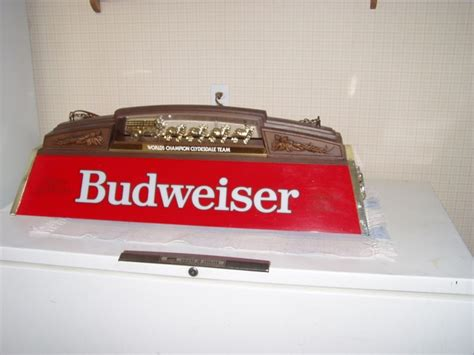 Budweiser Pool Table Lights by New Used Budweiser Pool Table For Sale 23 Ads In Us