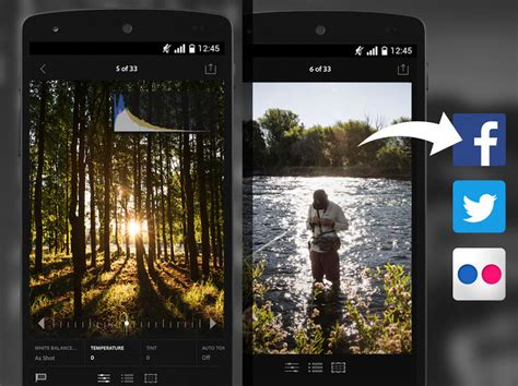 lightroom for android lightroom mobile app now available for android cnet