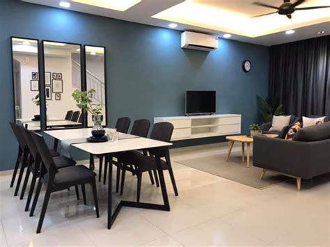 sharing dekorasi rumah teres  tingkat nazsha deko