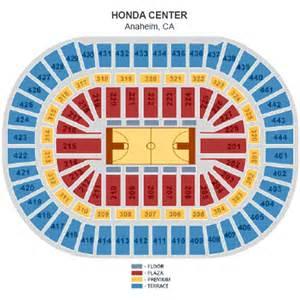 Honda Center Seating Chart Ncaa Mens West Regionals March 29 Tickets Anaheim Honda