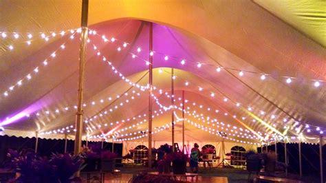 outdoor party tent lighting image gallery tent lighting