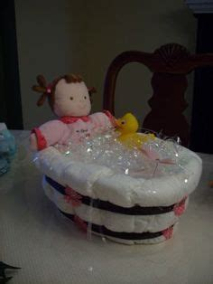 diaper cake bathtub baby diaper tub on pinterest diaper cakes bathtubs and