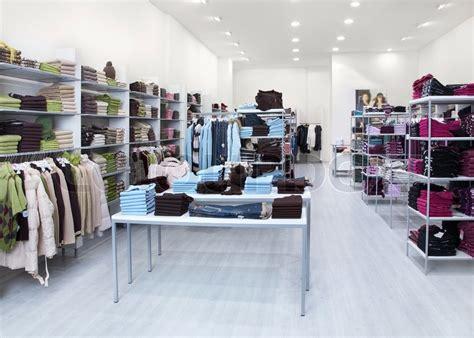 design clothes outlet interior of shop of clothes stock photo colourbox