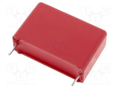 polypropylene capacitors wima mkp1j042207g00mssd wima capacitor polypropylene tme electronic components