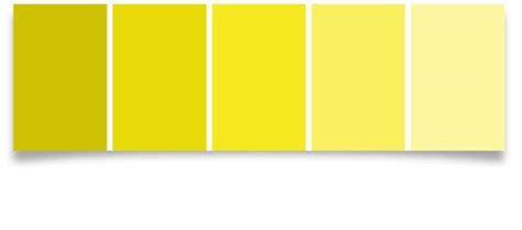 color paint swatch yellow small live your