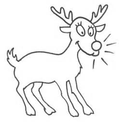 Reindeer coloring page animals town animals color sheet