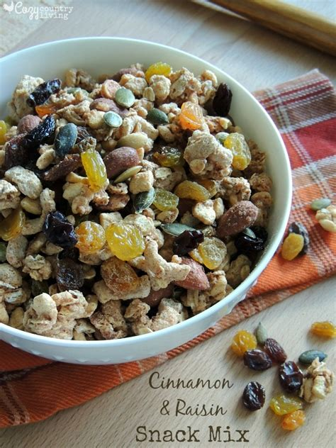 Granola Creation 480gr Cinnamon Raisin cinnamon raisin snack mix cozy country living