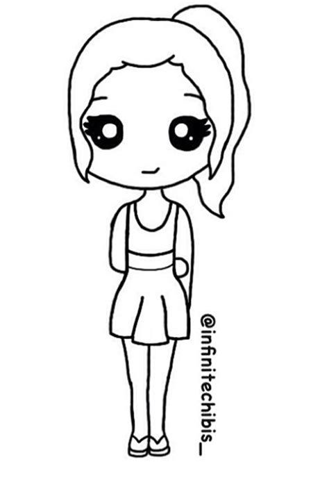 drawing maker chibi 5 chibi stencils chibi