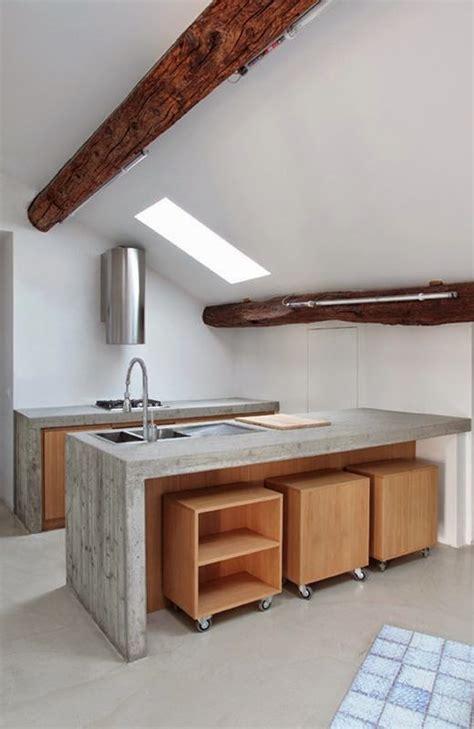 cocinas modernas blancas y madera