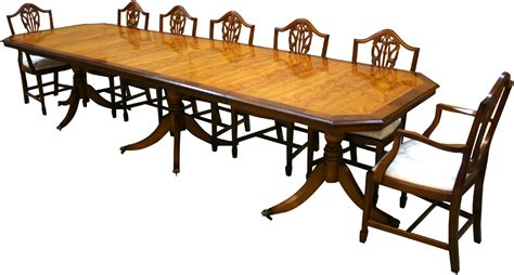 Yew And Mahogany Reproduction Inadam Dining Tables A1 Reproduction Dining Tables