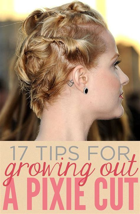 how to grow a pixie haircut into an a line bob 17 things everyone growing out a pixie cut should know