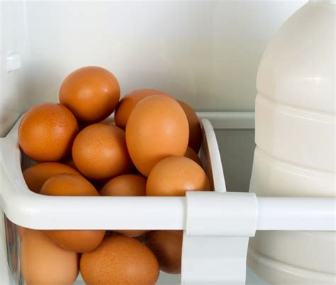 Boiled Eggs In Refrigerator Shelf by 13 Things In Your Fridge That Need To Be Tossed Page 12