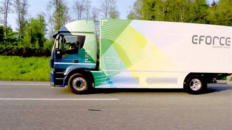 electric company truck swiss company e creates electric 18 ton truck with